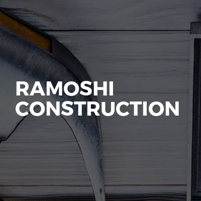 Ramoshi construction