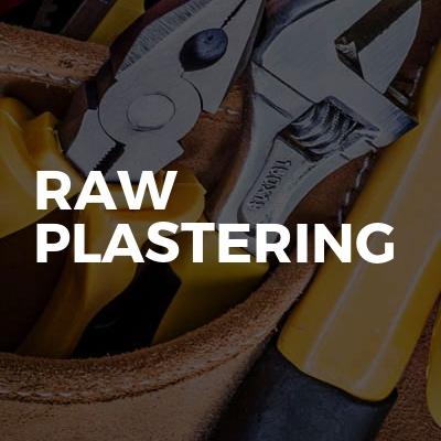 RAW PLASTERING