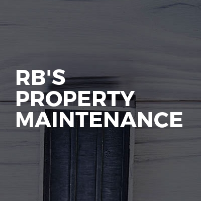 RB'S Property Maintenance