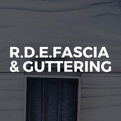R.D.E.FASCIA & GUTTERING