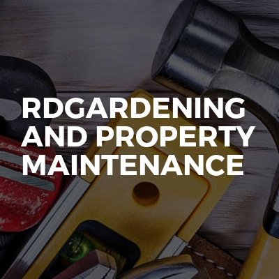 Rdgardening And Property Maintenance