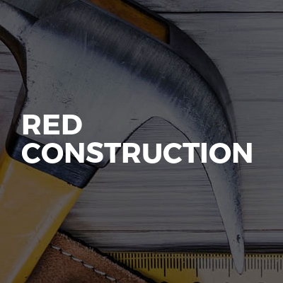 red construction