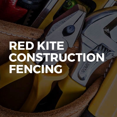 Red Kite Construction Fencing