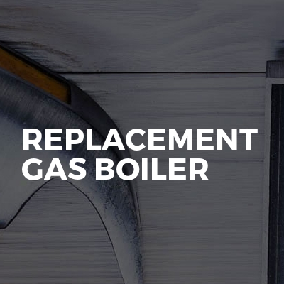 Replacement Gas Boiler