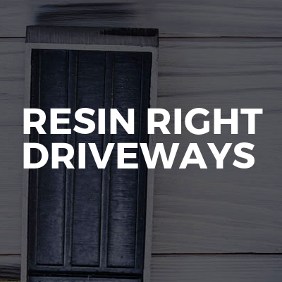 resin right driveways