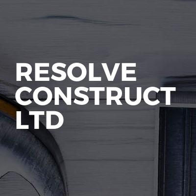 Resolve Construct Ltd
