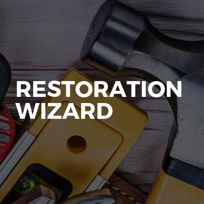 Restoration wizard