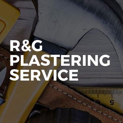 R&G Plastering service