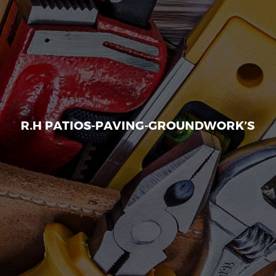 R.H Patios-paving-groundwork's