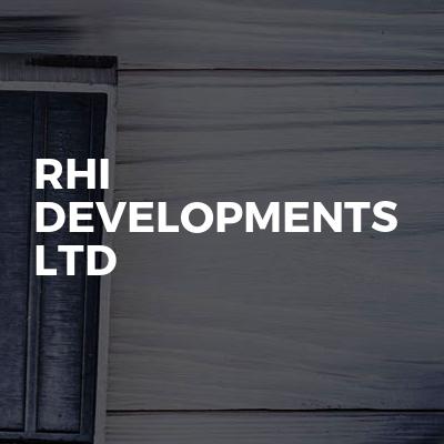 RHI Developments Ltd