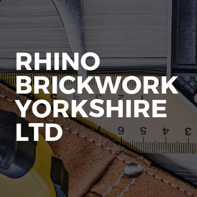 Rhino Brickwork Yorkshire Ltd