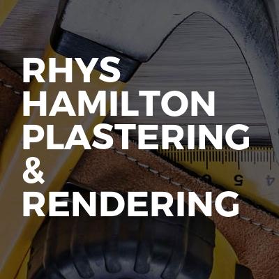 Rhys Hamilton Plastering & Rendering