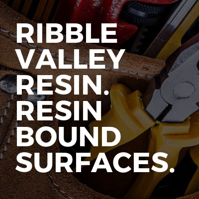 Ribble Valley Resin. Resin Bound Surfaces.