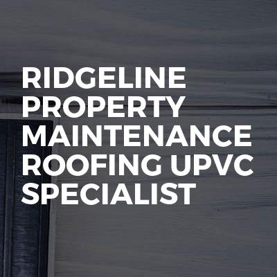 Ridgeline Property Maintenance Roofing uPVC Specialist