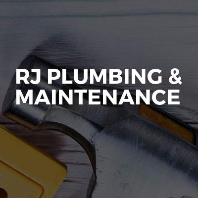 RJ Plumbing & maintenance