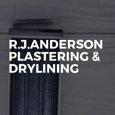 R.J.ANDERSON PLASTERING & DRYLINING