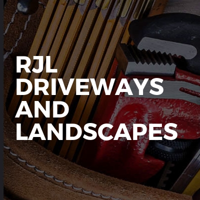 driveways and landscapes
