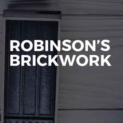 Robinson's brickwork