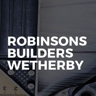Robinsons Builders Wetherby