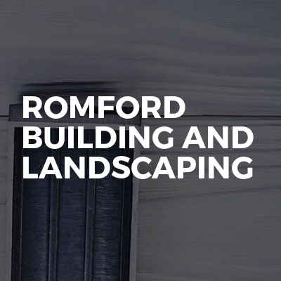 Romford Building And Landscaping