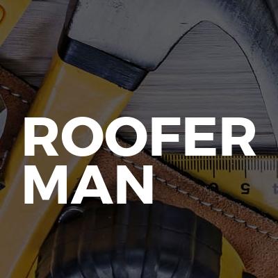 Roofer man