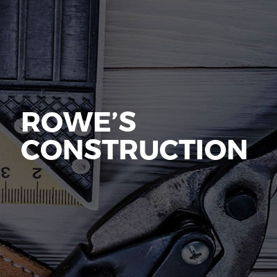 Rowe's construction