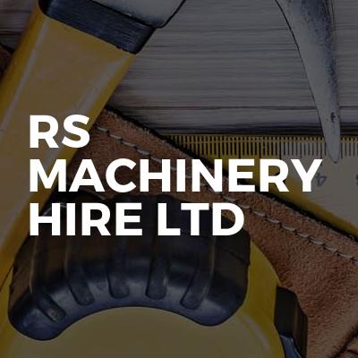 RS MACHINERY HIRE LTD