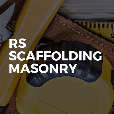 Rs Scaffolding Masonry