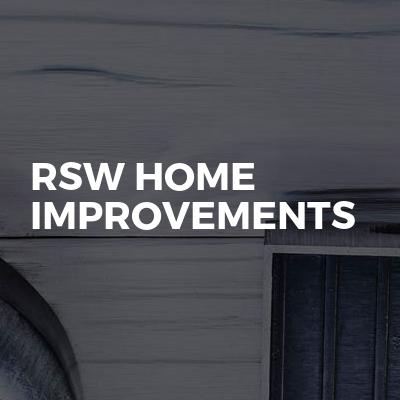 Rsw home improvements
