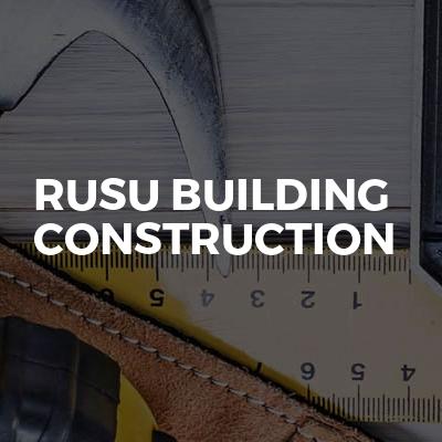 Rusu Building Construction