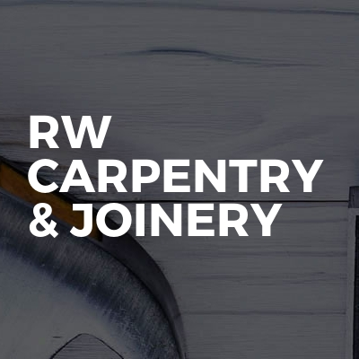RW carpentry & joinery