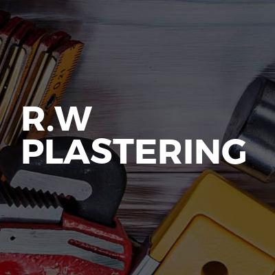 R.W Plastering
