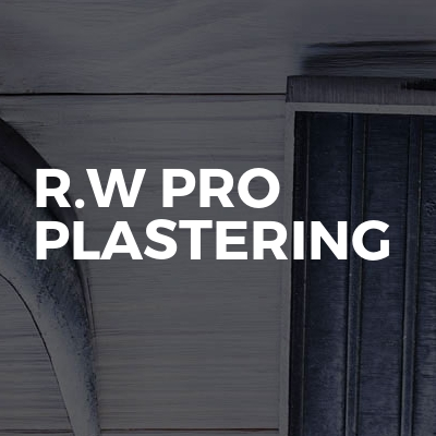R.W Pro plastering