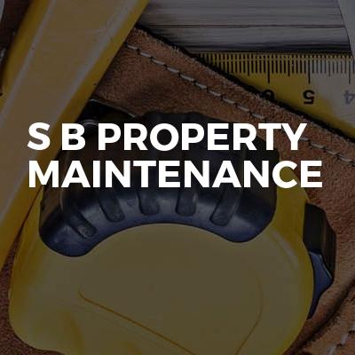 S B PROPERTY MAINTENANCE