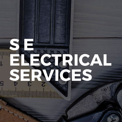 S E Electrical Services