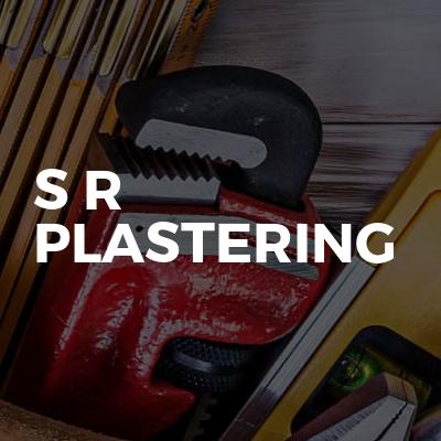 S r plastering