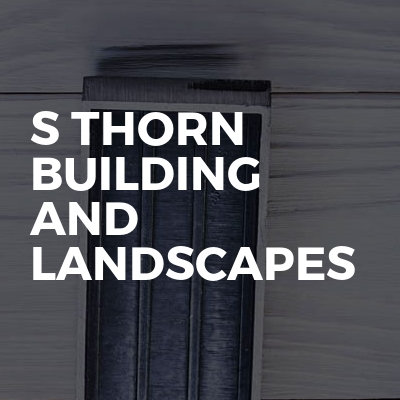 S Thorn building  and landscapes