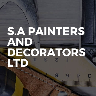 S.A Painters And Decorators Ltd
