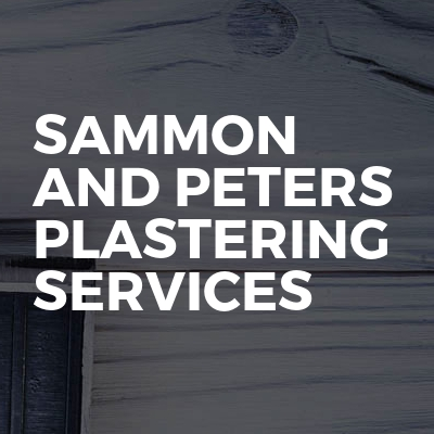 Sammon and peters plastering services