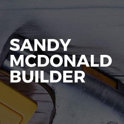 Sandy McDonald Builder