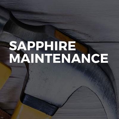 Sapphire Maintenance