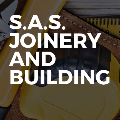 S.A.S. Joinery and building