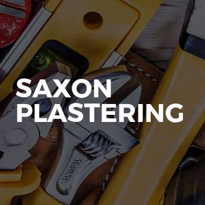 Saxon Plastering
