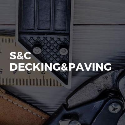 S&C Decking&Paving