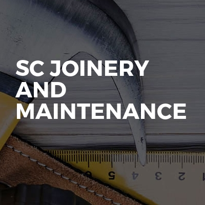 Sc joinery and maintenance