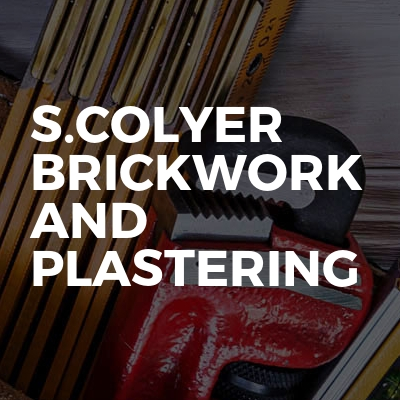 S.Colyer Brickwork And Plastering