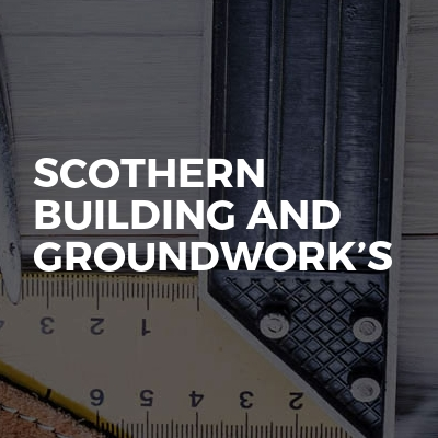 Scothern building and groundwork's