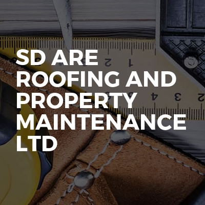 SDR Are Roofing And Property Maintenance LTD