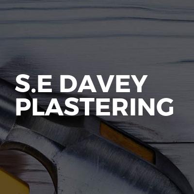 S.E Davey Plastering