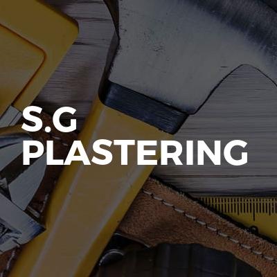 S.G Plastering
